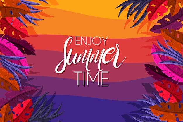 Summer sale background design