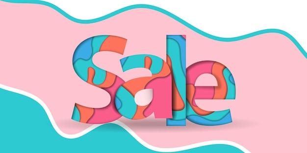 Summer sale banner black friday design template.