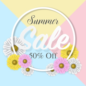Summer sale banner poster,abstract background,vector eps10.