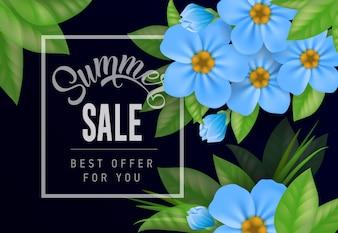 Summer sale Best offer for you lettering.