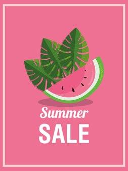 Дизайн летней распродажи