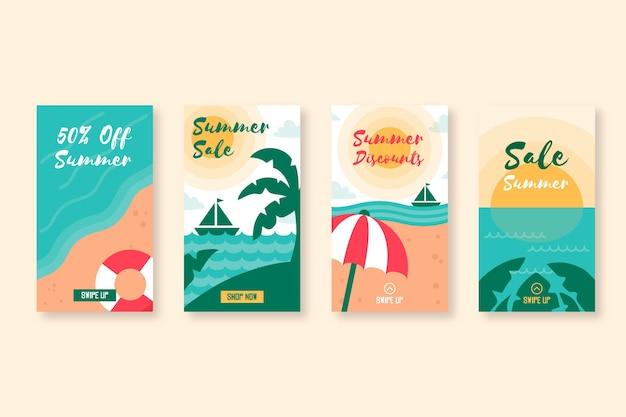 여름 세일 인스 타 그램 스토리 컬렉션