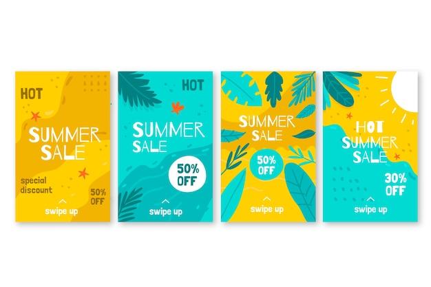Summer sale instagram story