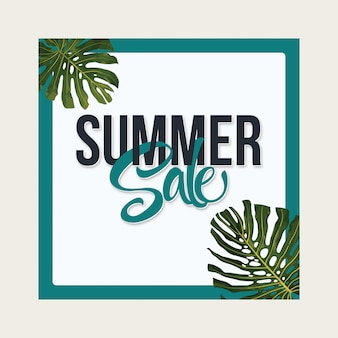 Summer sale layout