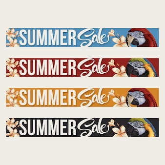 Summer sale layout