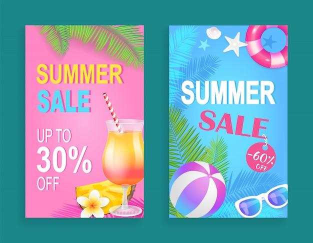 Summer sale reduction set