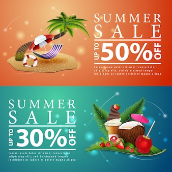 Hammock on the coconut tree Vector | Free Download