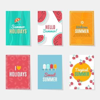 여름 시즌 카드
