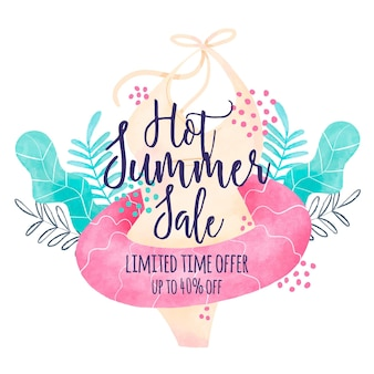 Summer seasonal sales
