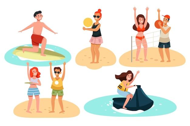 여름 스포츠 컬렉션