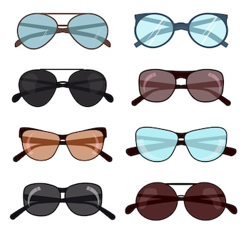 Summer sun protection fashion sunglasses