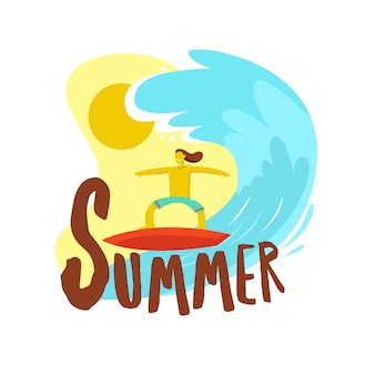 Summer and surf