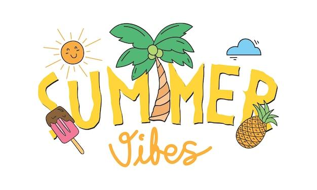 Summer tees design