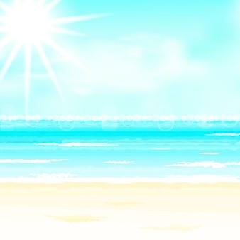 여름 시간 배경