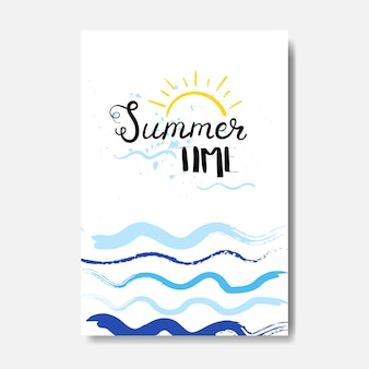 Summer time badge