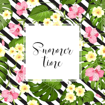 Summer time card.