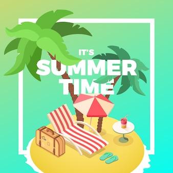 Summer time island