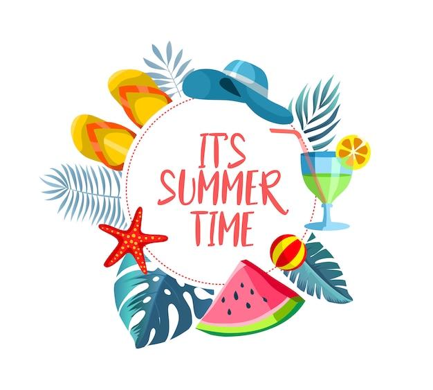 Summer time layout design