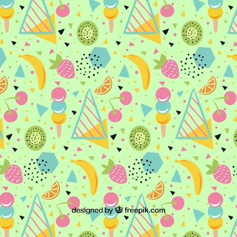 Summer time pattern background