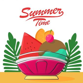 Summer time social media posting