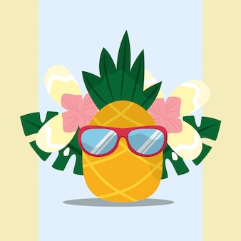 Summer time tropical