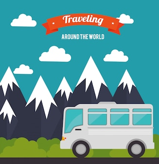 Summer, travel and vacations