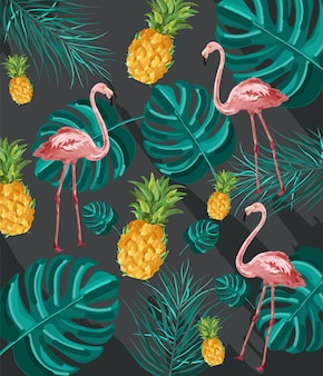 Summer tropic pattern