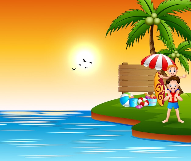 Летний отдых на море
