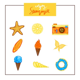 Summer vector collection.
