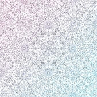 Summer vector linear seamless pattern. vector illustration