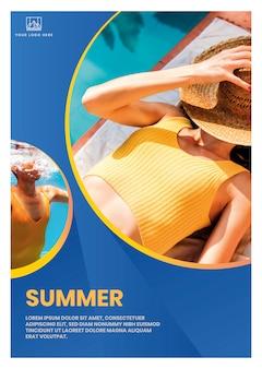 Summer vibe advertisement