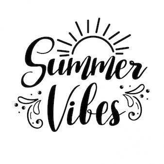 Лето vibes надписи.