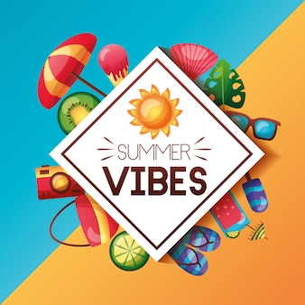 Summer vibes vacations