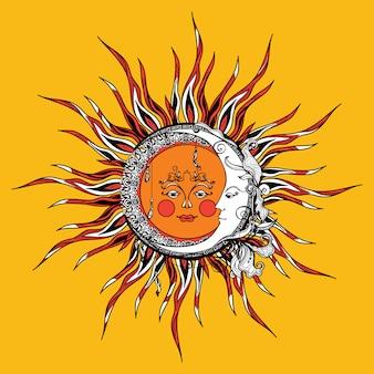 태양, 달