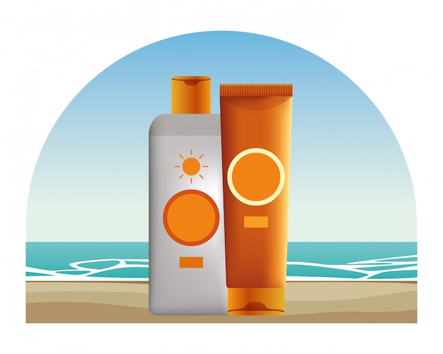 Sun bronzers cosmetic products