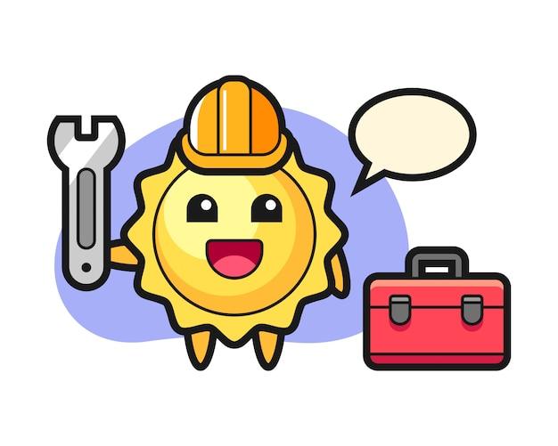 정비공으로 태양 만화