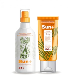 Sun cream and lotion protection