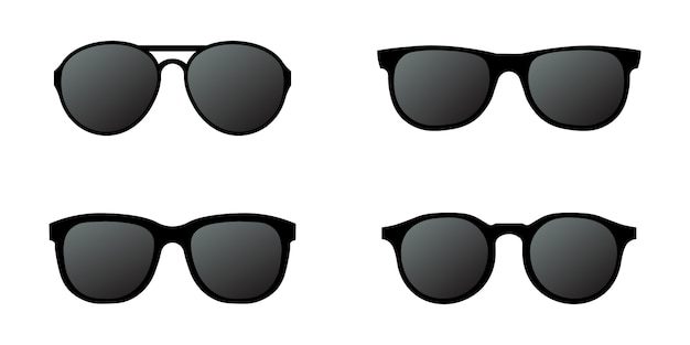 Sun glasses set simple design