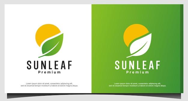 サンリーフのロゴデザイン