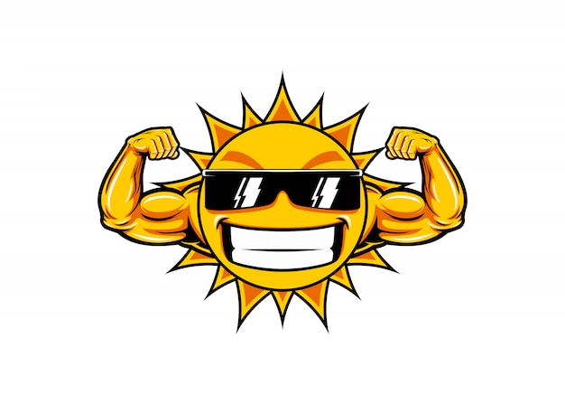 Sun muscle funny