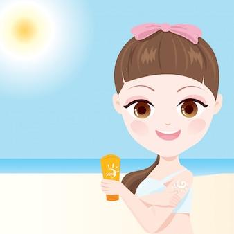 Sun protect skin