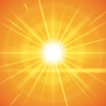 Дизайн солнечных лучей.