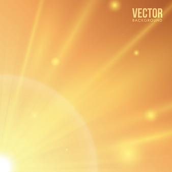 太陽光線のデザイン