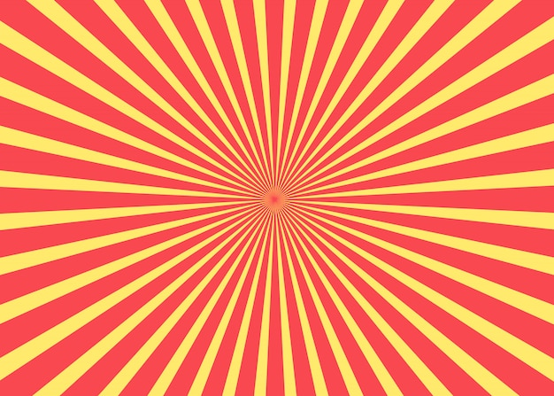 Sun rise. vector shapes. sunny background.
