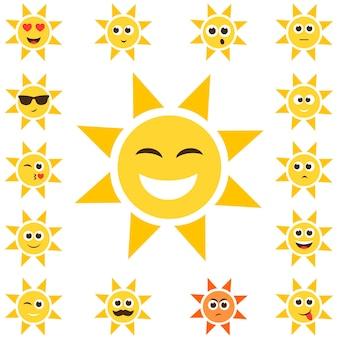다른 감정을 가진 태양