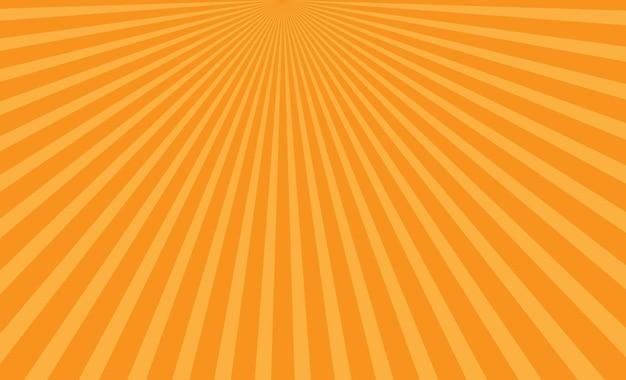 Sun yellow background vector