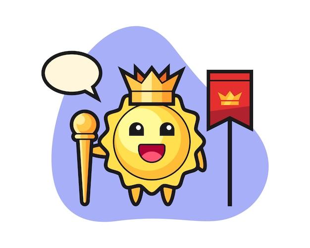 Sun мультфильм как король