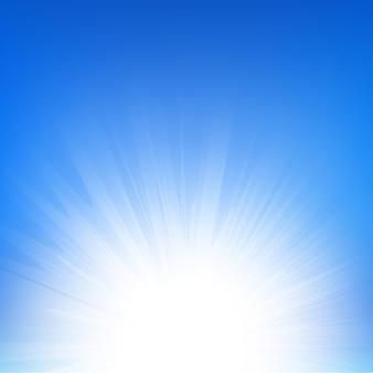 Градиентная сетка солнечного луча