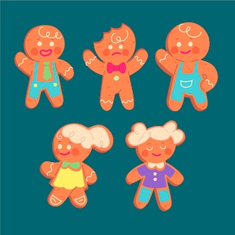 Sunburn gingerbread man cookie