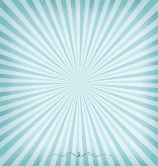 Sunburst blue background